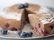 Gâteau myrtilles farine sarrasin