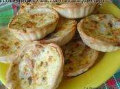Petites quiches thon fromage