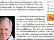 Wikileaks rédige faux éditorial York Times