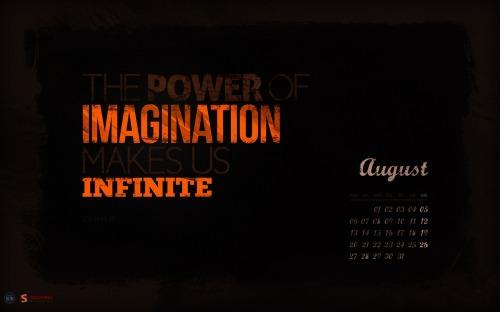 infinite imagination  20 Fonds décran calendrier du mois dAout