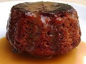 Sticky Toffee Pudding Traditionnel Irrésistible Moelleux Anglais Sauce Caramel