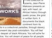 publicité Jean-Pierre Makosso dans magazine Shelf Unbound (plus 125,000 lecteurs États-Unis pays)