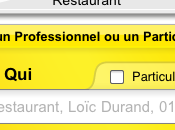 Application iPhone: Pages jaunes.