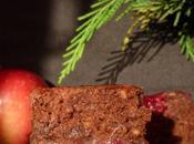 Fondant chocolat canneberges, sans oeufs