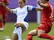 footballeuses françaises échouent pied podium