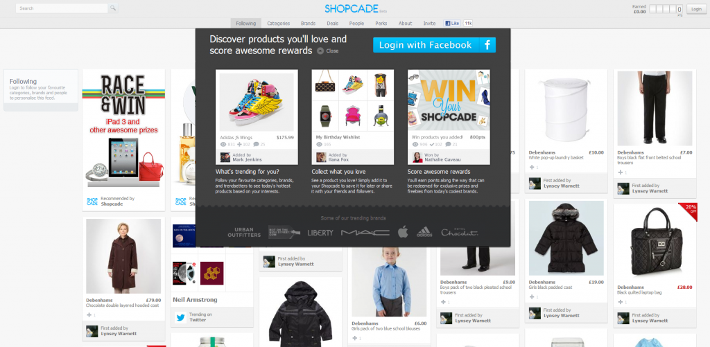 Shopcade-pinterest-ecommerce