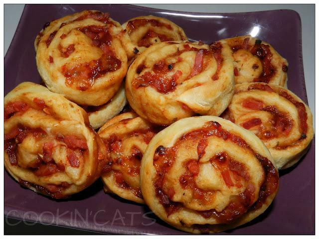 Fantastique Que Faire Avec Pate A Pizza mini pizza roulees - paperblog