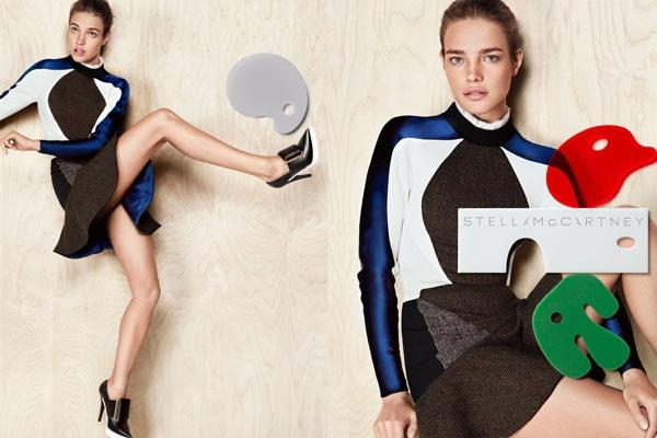 Natalia Vodianova en mode loufoque pour Stella McCartney !