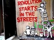 Revolution starts streets