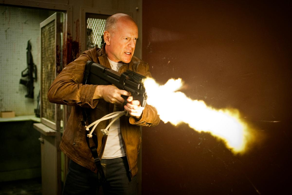 Looper: Bruce Willis face à Joseph Gordon Levitt