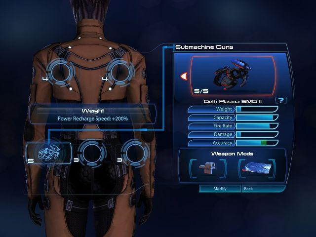 MassEffect3 weapon configuration