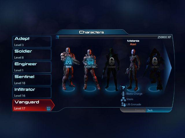 MassEffect3 Character Choice
