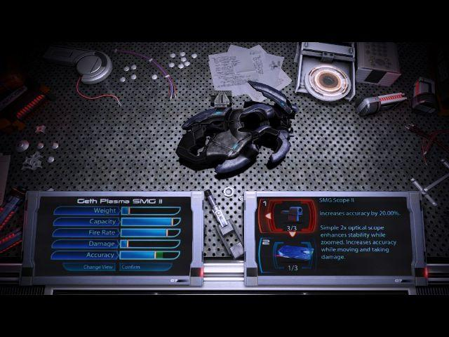 MassEffect3 weapon customizing