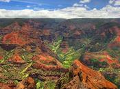 Instant paradisiaque Hawaï canyon Waimea