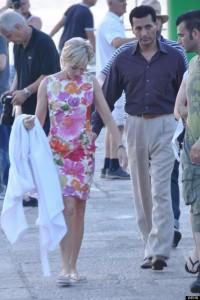 Diana : nouvelles photos du tournage avec Naomi Watts