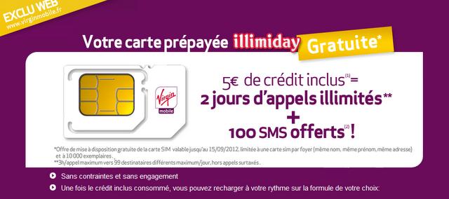 Virgin Mobile Carte Sim Gratuite Avec 5 De Credit Paperblog