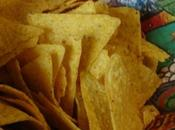 Tortillas chips tomate basilic