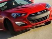Hyundai Genesis Coupé restylage nouveau 347ch pour euros