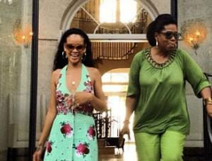 Rihanna se confie et parle de l'agression de Chris Brown à Oprah (vidéo)