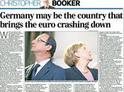 Euro sortie l'Allemagne presse d'outre-Rhin
