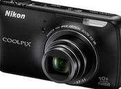 Nikon Coolpix S800c compact sous Android