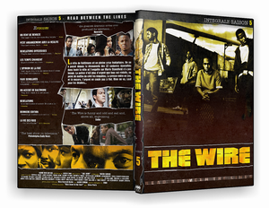 Cover The Wire saison 5 Integrale covers The wire
