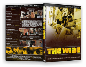 Cover The Wire saison 4 Integrale covers The wire