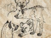 Des... HYENES, hyènes