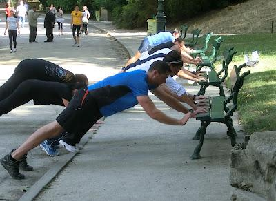 Boot camp Capra Paris - Cross-training & abdos