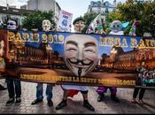 """Anonymous."""" Méga Raid 2012 contre scientologie"""". Paris."""