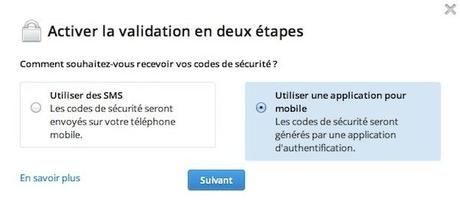 dropbox validation en deux etapes 1 Dropbox : comment activer la validation en deux étapes