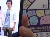 Sony LiveAction réalité augmentée écolière japonaise