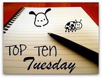 Top Ten Tuesday n°29