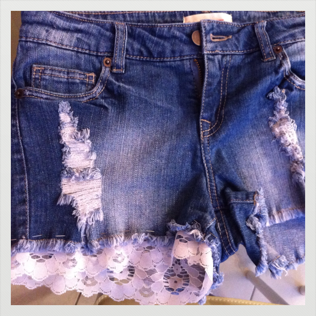DIY – Le short en dentelle