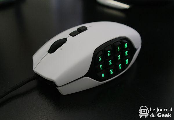 Test Flash : Logitech G600