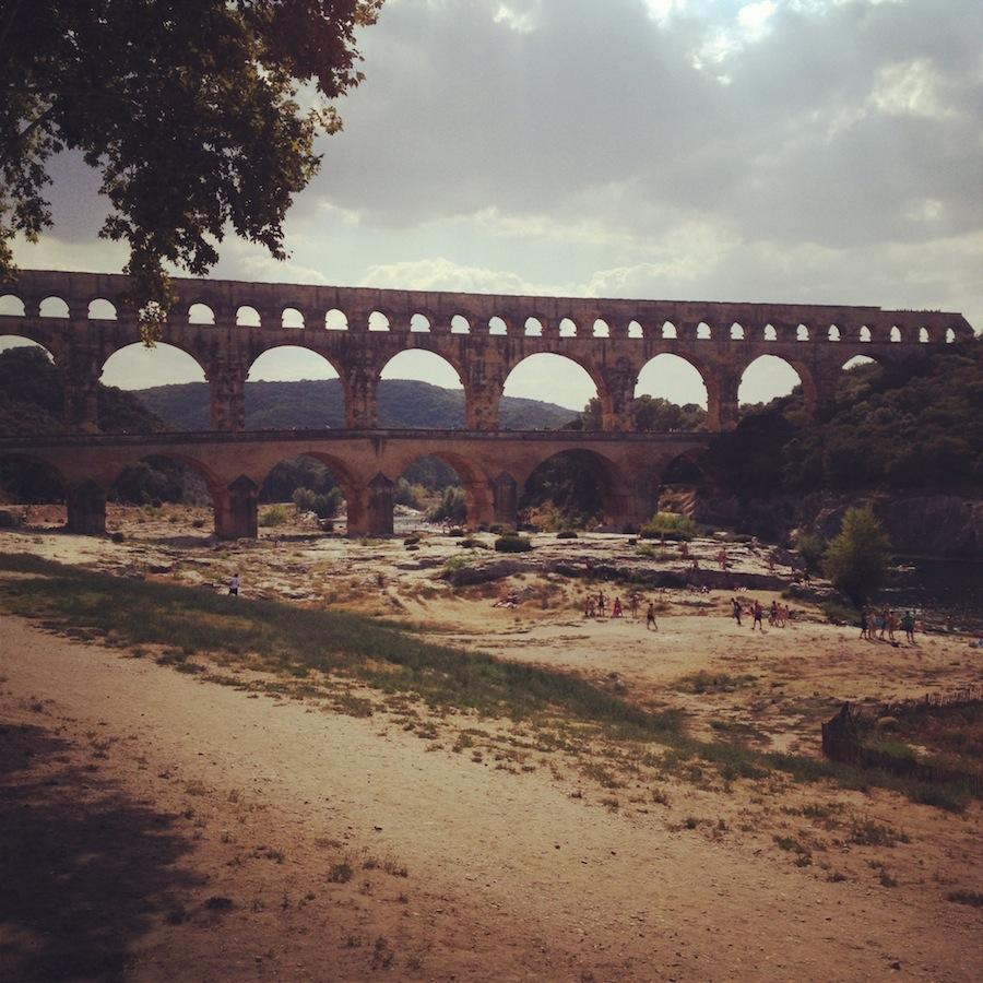 first days of two years in Nîmes