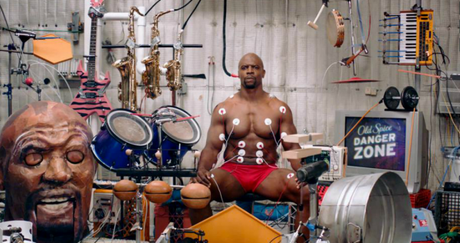 Old Spice : composer de la musique en contractant les muscles de Terry