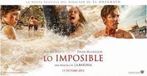 2 photos + 2 affiches de The Impossible