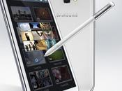 2012 Samsung officialise Galaxy Note