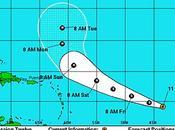 dépression tropicale Leslie devrait passer NORD Leewards Islands