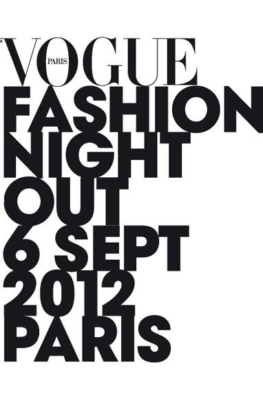 Vogue Fashion Night Out : vous y allez ?