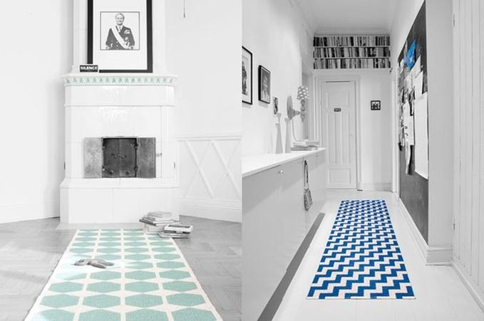 en mood wanted un tapis scandinave en plastique paperblog. Black Bedroom Furniture Sets. Home Design Ideas