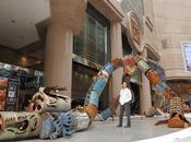 dragon baril pétrole Zhijie Beijing Sculpture