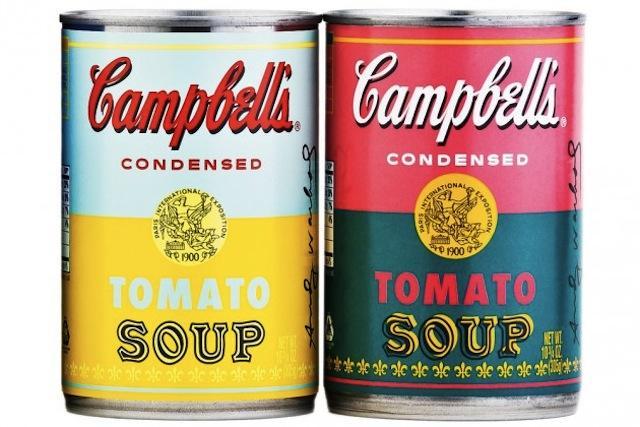 ... 50 ans des boîtes de soupe Campbell's d'Andy Warhol - Paperblog