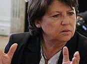 Martine Aubry gouvernement dans sens