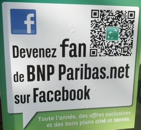 Affiche BNP Paribas