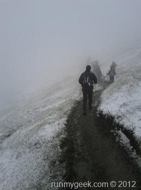 CCC Grand Col Ferret sous la neige