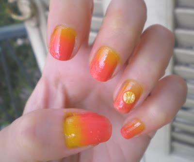 Sunset On My Nails