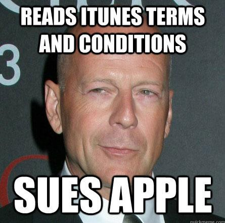 Bruce Willis Apple