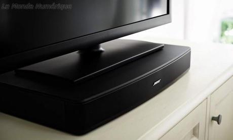 Système audio Bose Solo pour mieux profiter du son de sa TV en toute simplicité